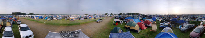 Click to see larger version of this Bonnaroo panoramic